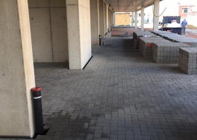 Aanleg droge parking