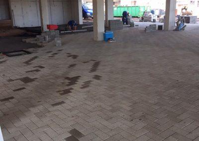 Aanleg parking waterdoorlatende klinkers - Roeselare